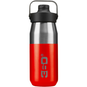 360° degrees Wide Mouth Insulated Drink Bottle with Sipper Cap 550ml red